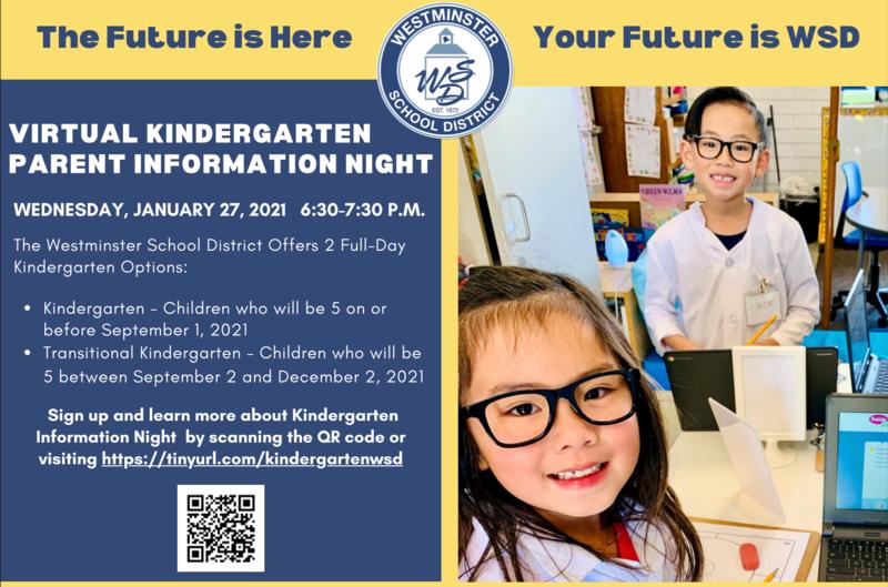 Kindergarten Registration Night