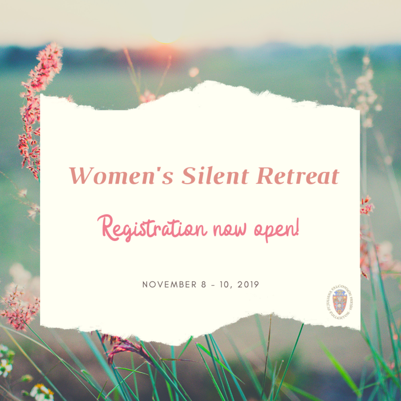 Women's Silent Retreat Featured Photo