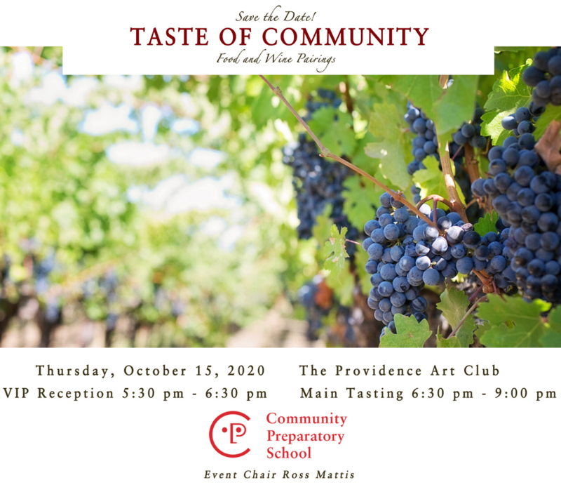 Save the Date: Taste of Community 2020 Featured Photo
