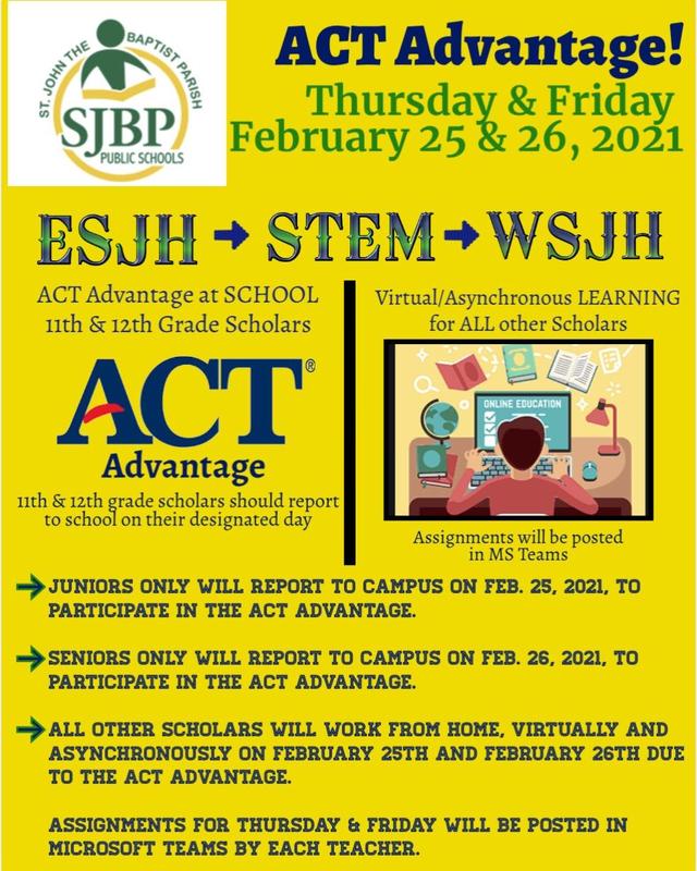 SJBP ACT Flyer
