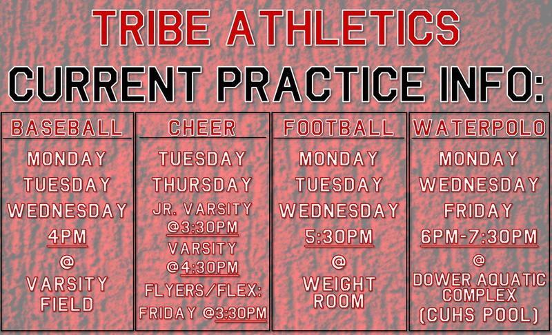 Tribe Sport Practice Times