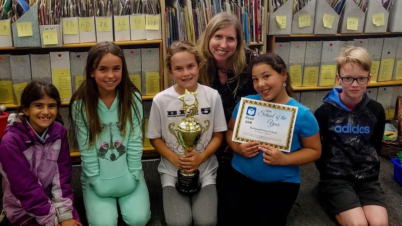 Richmond Street School is Read Live's School of the Year! Featured Photo