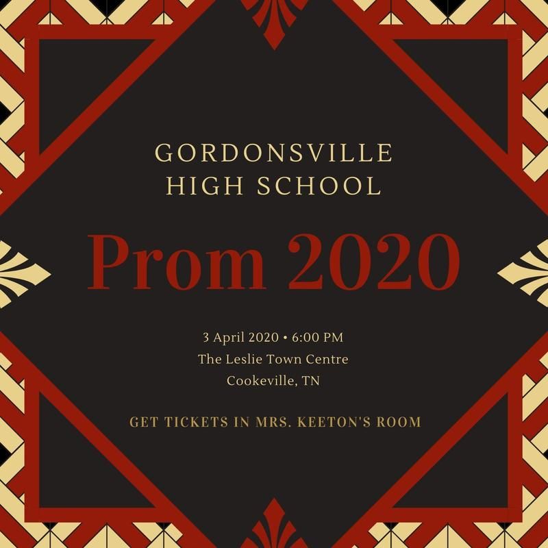 Prom Tickets on Sale Now! Featured Photo