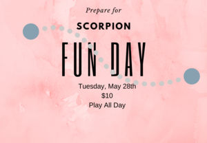 Scorpion Fun Day