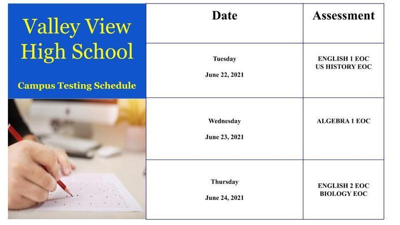 EOC June Retesters Schedule Thumbnail Image