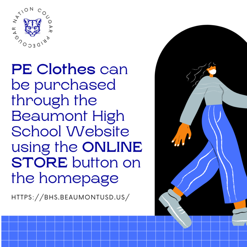 PE Clothes Purchase to be made online. Featured Photo