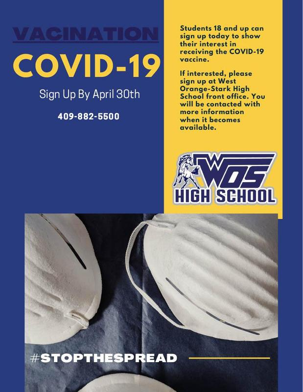 Flyer for COVID-19