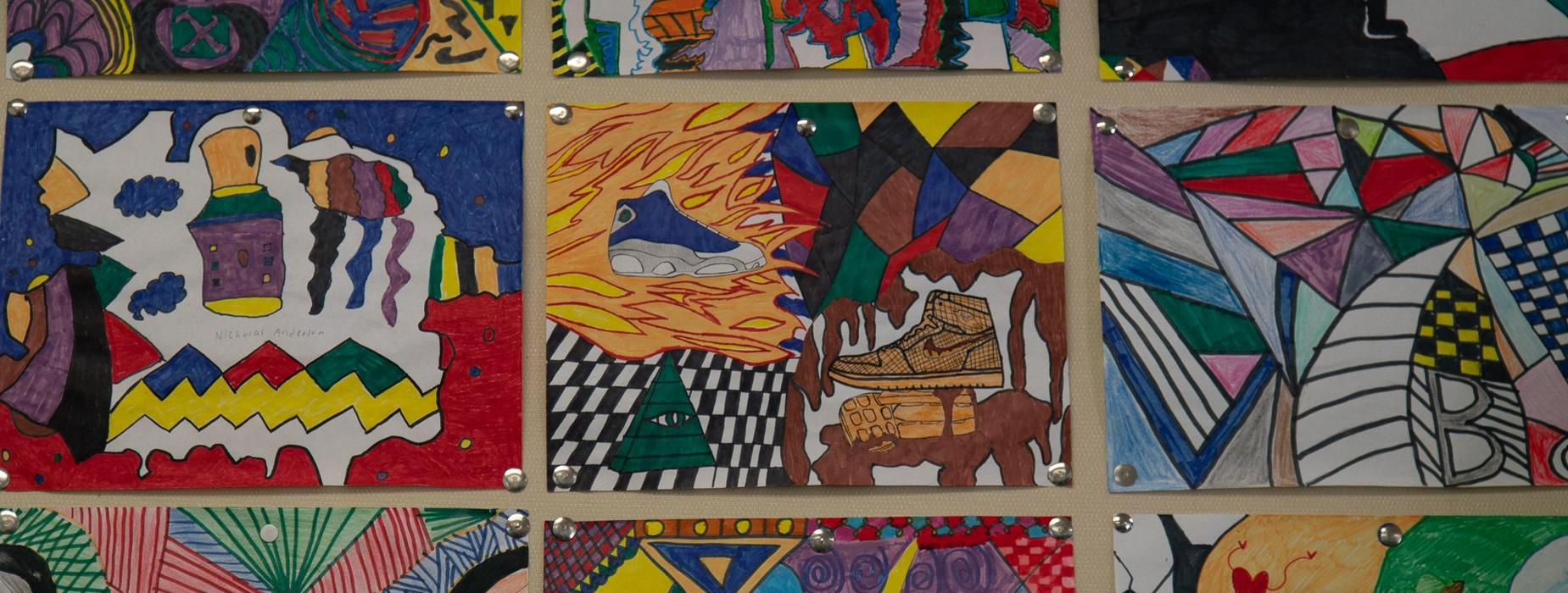 CHS Student art work