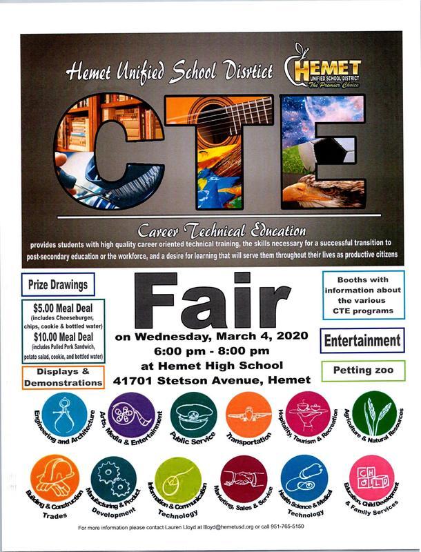 CTE Fair