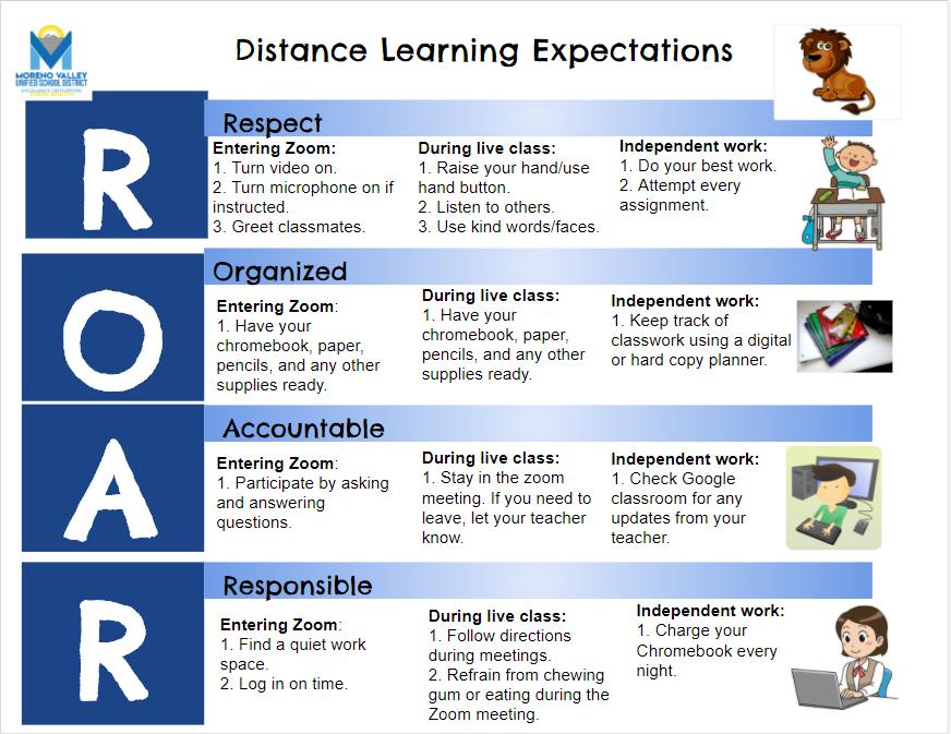 ROAR Matrix for Distance Learning