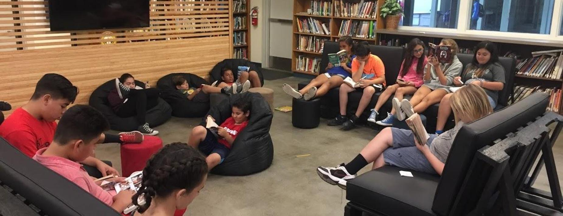 Sandburg Library 'Learning Lounge'