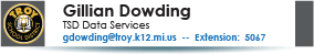 Gillian Dowding, Data Services, 248-823-5067.