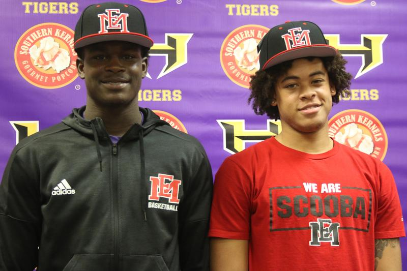Hattiesburg Basketball Players sign Full ride scholarships Featured Photo
