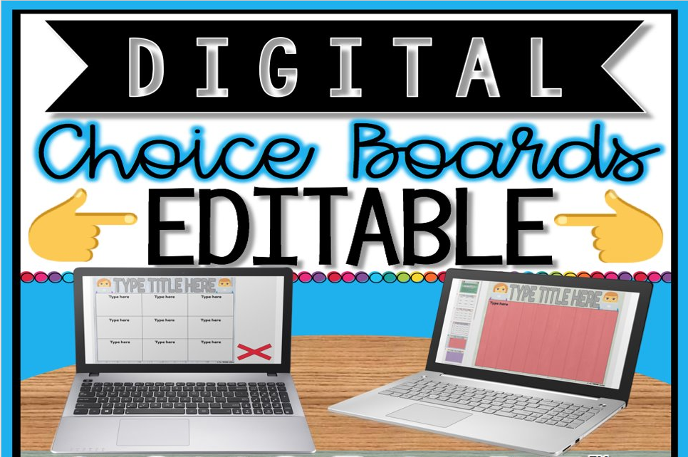 Choice Boards For Student Choice Instructional Technology Coach