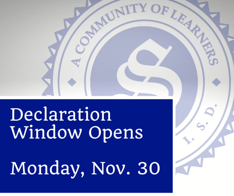 Declaration window opens November 30 Featured Photo