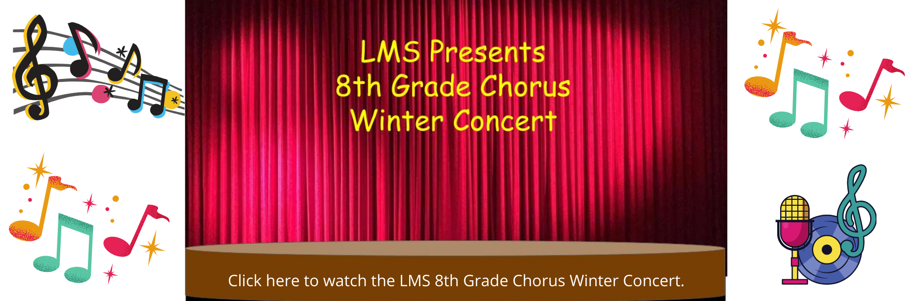 8th grade winter concert link
