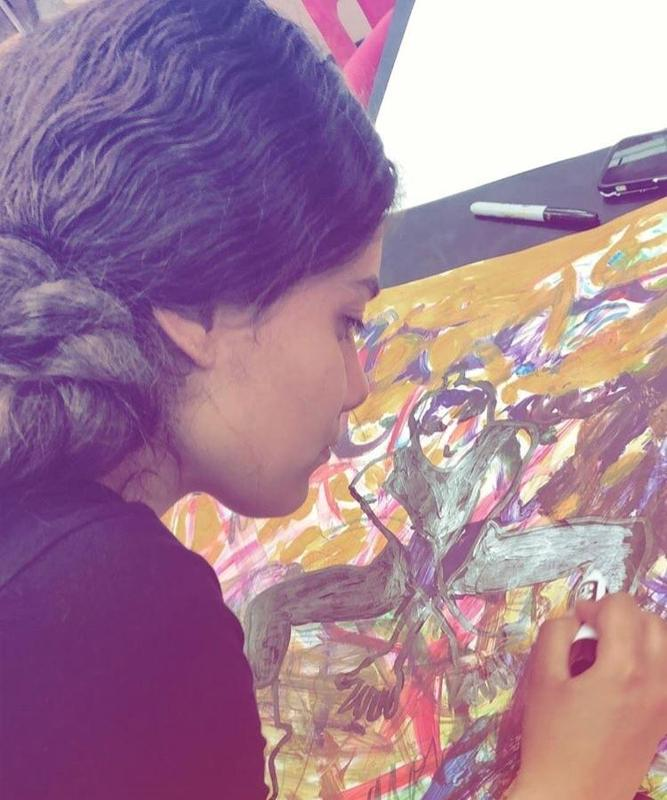 Student Art Painting