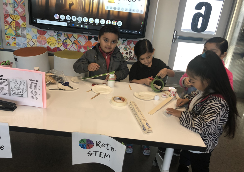 Students love our monthly STEM challenges