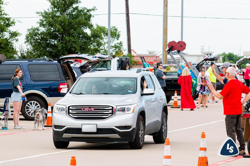 LHSW 'Drive-In Parade' Lifts Spirits for Class of 2020