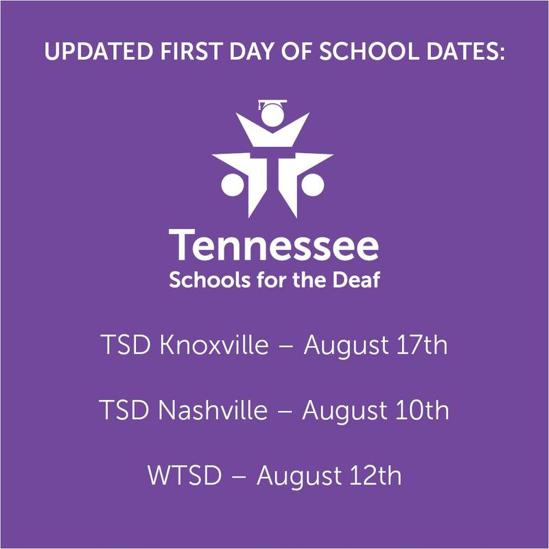 TSD Campuses - School Opening Dates