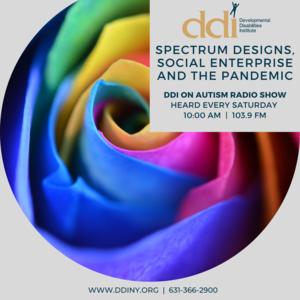 DDI Radio Show announcement (rainbow rose)