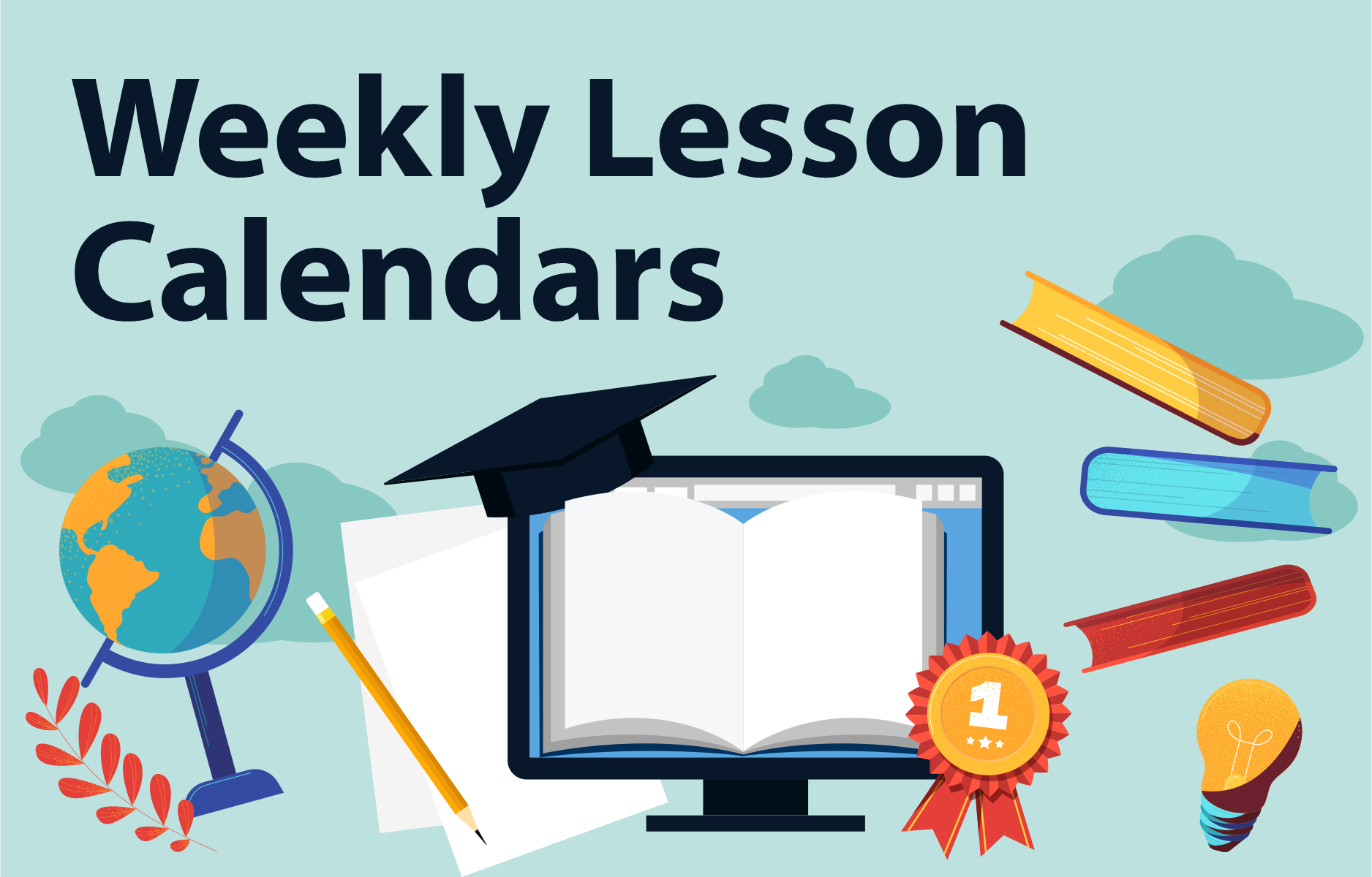 Weekly Lesson Calendars