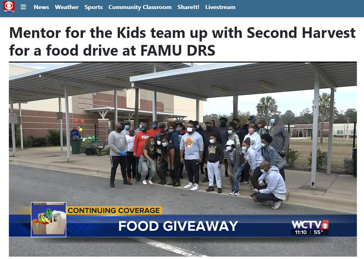 Drive-Thru Food Distrubtion Event News Coverage