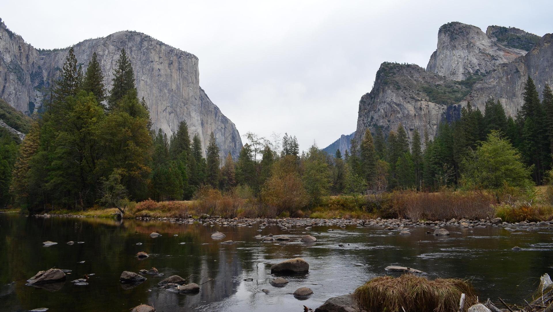 Valley View at Yosemite National Park