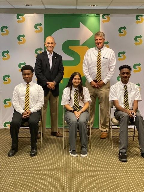 First Cristo Rey RT High School students deployed to their jobs!! Featured Photo