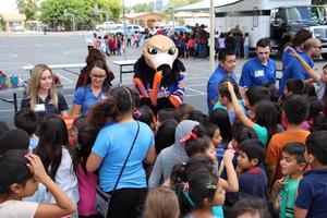 Bakersfield Condors Visit Casa Loma