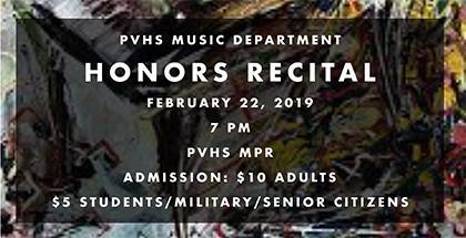 Honors Music Recital Thumbnail Image