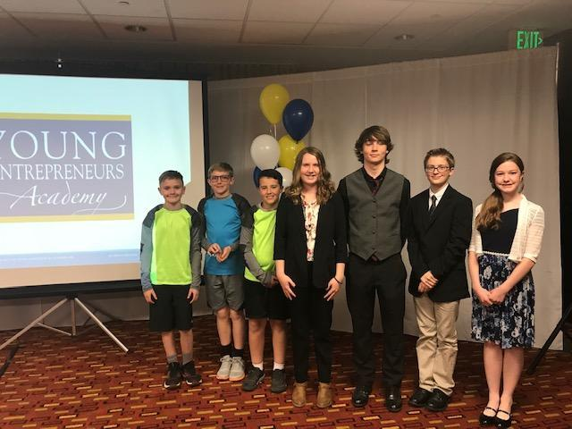 Caprock Students in the Young Entrepreneurs Academy