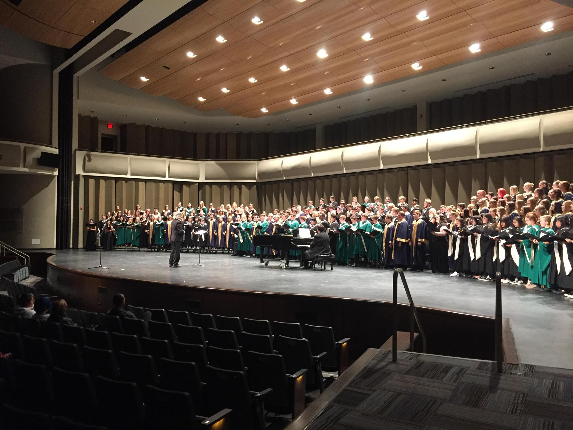 Group Photo of Choral Symposium