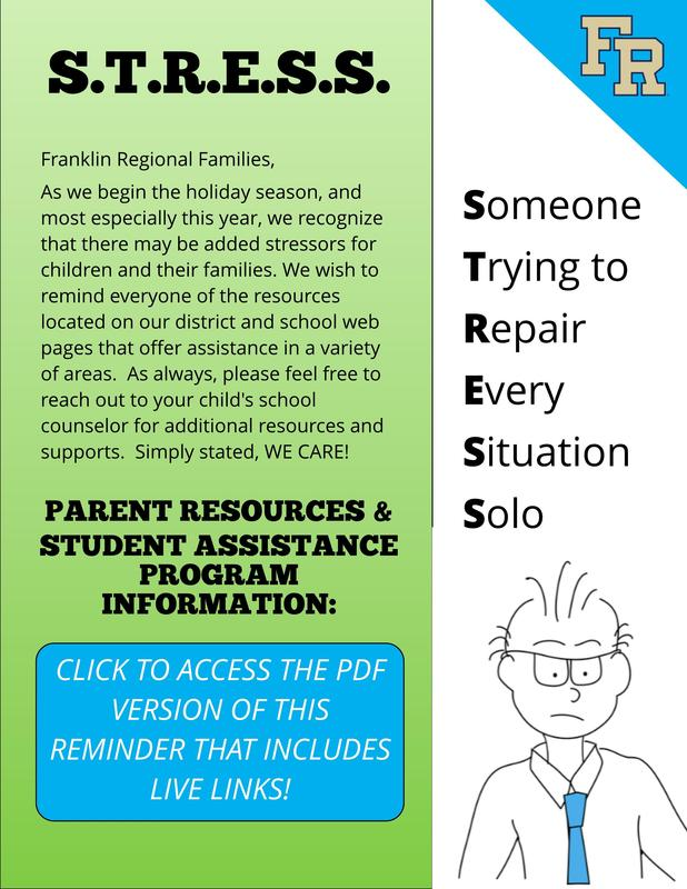 FR Web Resources & Family Support Info