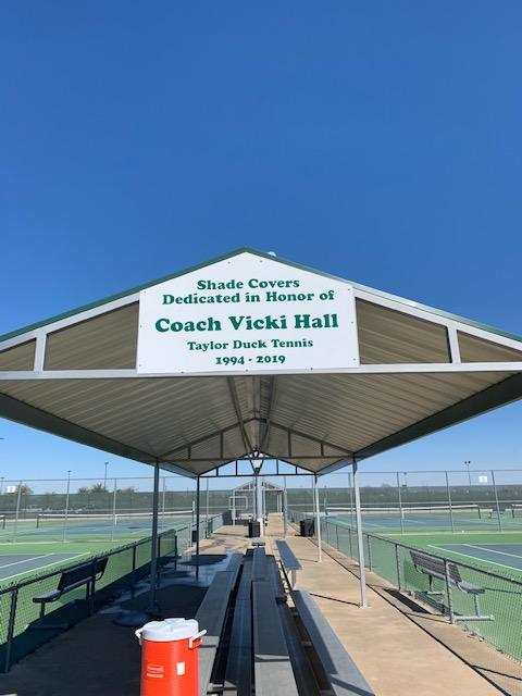 Tennis Structure Dedication