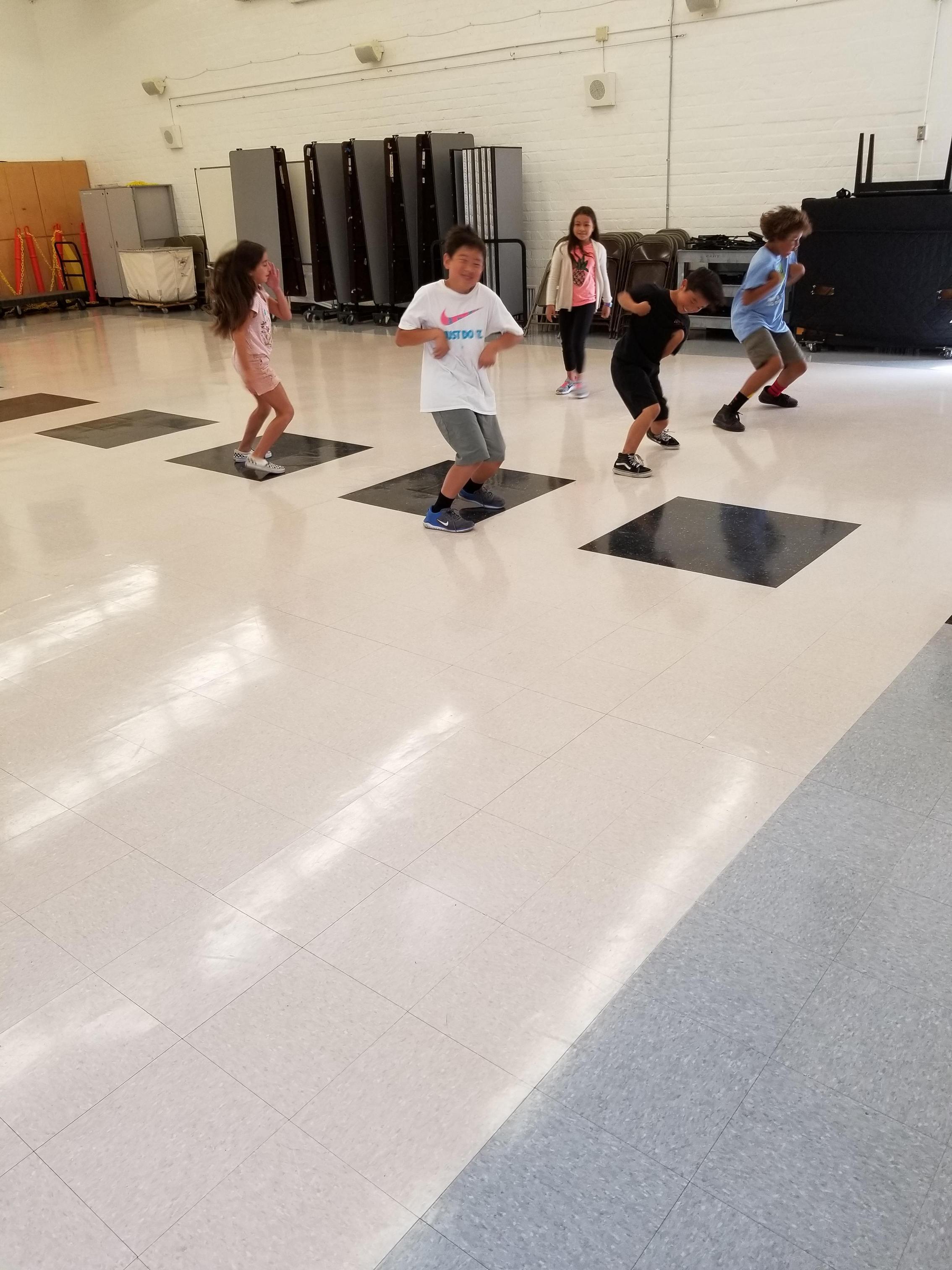 Our urban dance program!