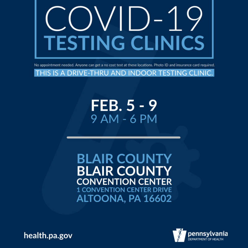 COVID Testing Announcement