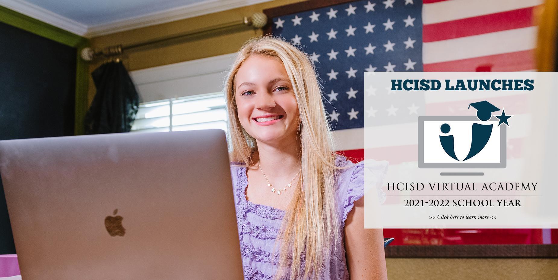 HCISD Launches HCISD Virtual Academy