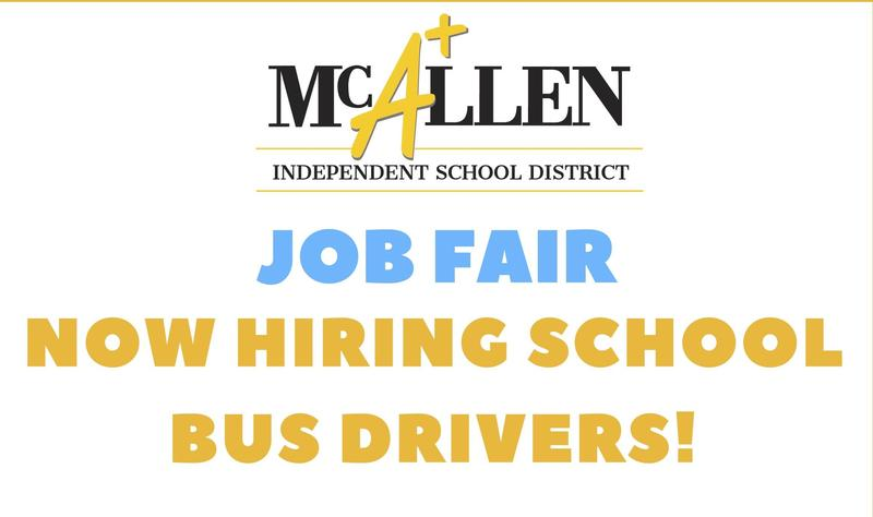 McAllen ISD is hiring bus drivers