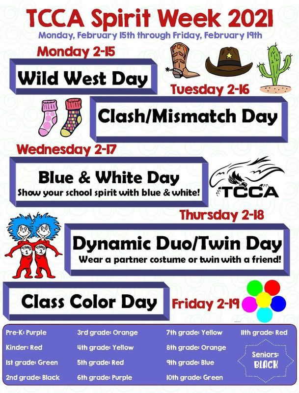 Spirit Week will be 2/15-2/19 Featured Photo