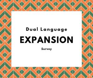 pic of dual language survey