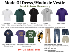 Mode of Dress