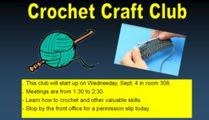 Crochet Craft Club