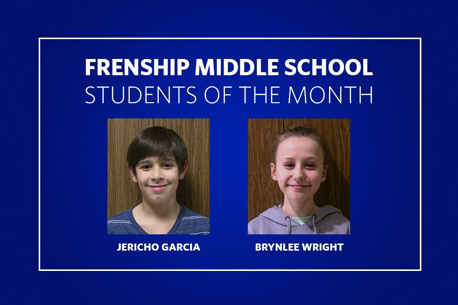 FMS Students of the Month