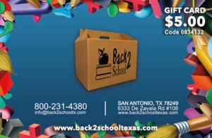 Back2School Texas Coupon