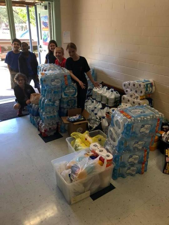 Hurricane Relief Donations