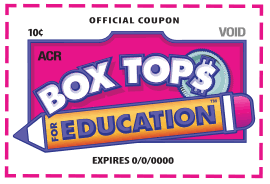 Collecting box tops for our school just became easier!