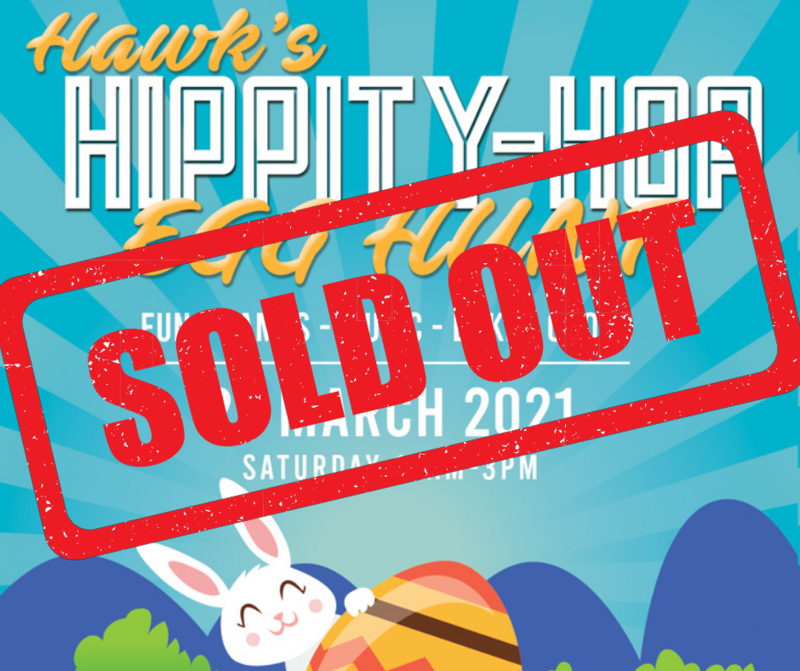 Hawk's Hippity-Hop Egg Hunt - March 27* Featured Photo