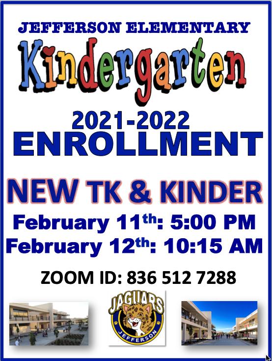 Kinder Enrollment
