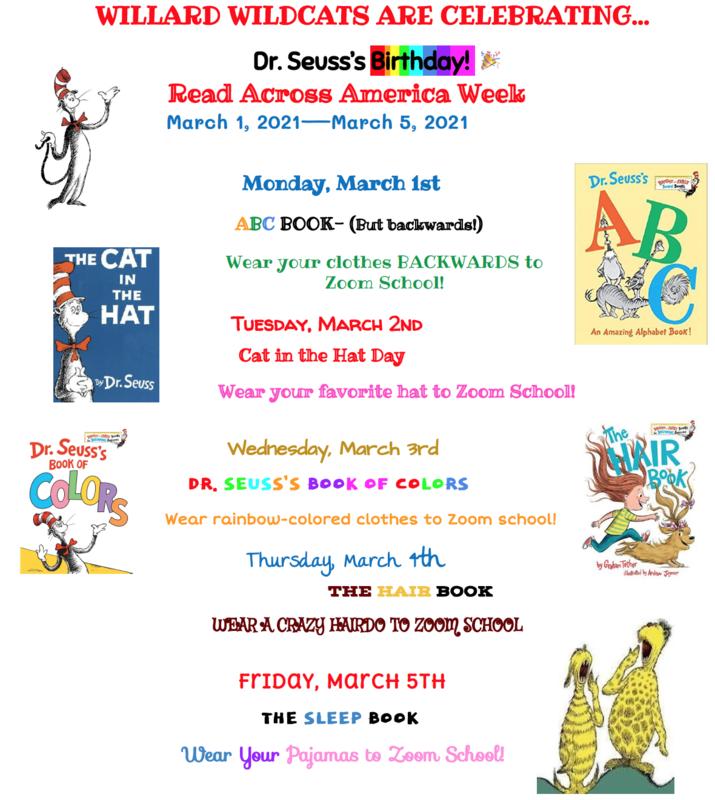 Dr. Seuss Week! March 1st-5th Thumbnail Image